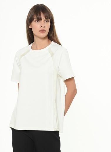 Ipekyol Kadın  Bluz IS1200070228 Krem